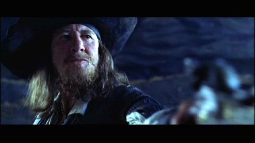 Zombie Barbossa knows what that's like.