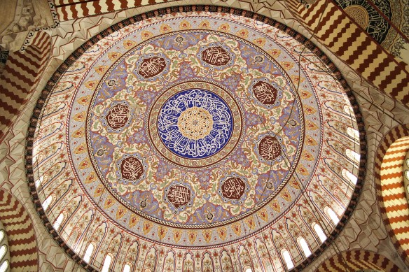 The dome of the Selimiye Mosque, via Wikipedia