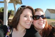 Cali vacay in early 2012 with my family! This is my sister and me at Old Town San Diego.